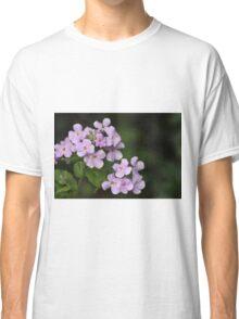 Light Mauve Floral Design Classic T-Shirt