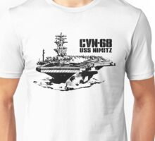 Aircraft carrier Nimitz Unisex T-Shirt