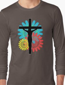 Colorburst Crux - Variation 3 Long Sleeve T-Shirt