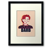 Barb Framed Print