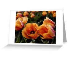 Unique Beauty - Flower Art Greeting Card