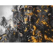 Firefighter - Courage for battling the Beast Photographic Print