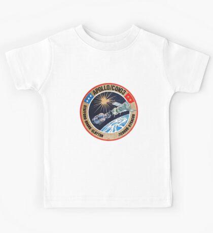 Apollo Soyuz Test Program Kids Tee