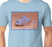 MESSAGE PIECE: Girls Come and Go, My Fish is Forever Unisex T-Shirt