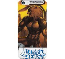 Sega Altered Beast Transparent  iPhone Case/Skin