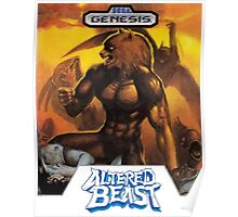 Sega Altered Beast Transparent  Poster