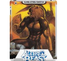 Sega Altered Beast Transparent  iPad Case/Skin