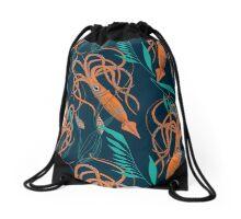 Giant Squid! Drawstring Bag