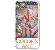 Sega Golden Axe Transparent  iPhone Case/Skin