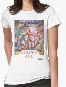 Sega Golden Axe Transparent  Womens Fitted T-Shirt