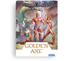 Sega Golden Axe Transparent  Canvas Print