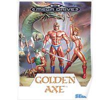 Sega Golden Axe Transparent  Poster