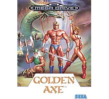 Sega Golden Axe Transparent  Photographic Print