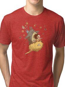 Totoro - Dragon Ball  Tri-blend T-Shirt