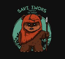 SAVE EWOKS PROTECT THE FOREST ULTIMATE ! Unisex T-Shirt