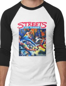 Streets of Rage cover art  Men's Baseball ¾ T-Shirt