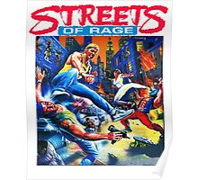 Streets of Rage cover art  Poster