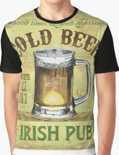 Irish Pub Graphic T-Shirt