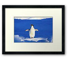 Penguin Hug Framed Print