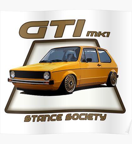 GTI mk1 Poster