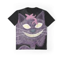 A Cheshire Cat Always Grins Graphic T-Shirt