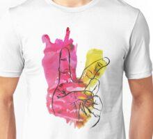Peace Out Sign Unisex T-Shirt