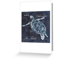 Indigo Verde Mar 2 Greeting Card