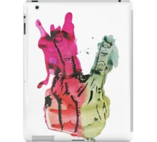 Two Fingers Sign iPad Case/Skin