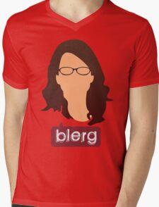 Liz Lemon - Blerg Mens V-Neck T-Shirt