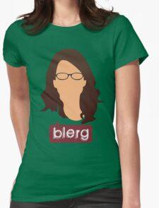 Liz Lemon - Blerg Womens Fitted T-Shirt