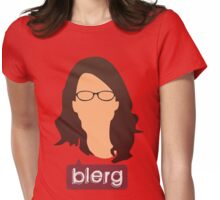 Liz Lemon - Blerg Womens Fitted T-Shirt