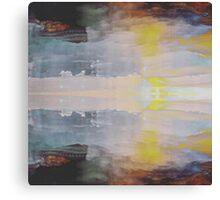 Pastel Splatter Canvas Print