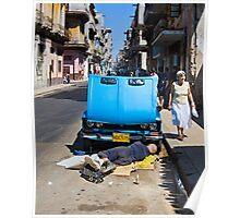 Havana Auto Repair Poster