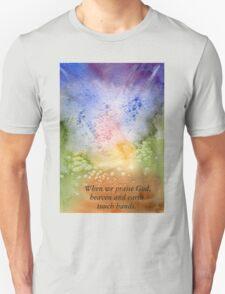 The Fireworks of Praise Unisex T-Shirt