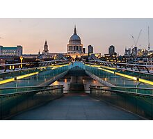 Millennium Bridge Photographic Print