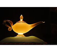 Jasmine's Lamp Photographic Print