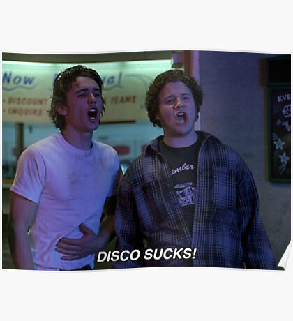 disco sucks! Poster