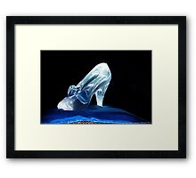Cinderella's Glass Slipper Framed Print