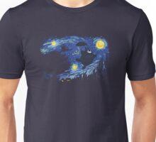 Totoro - Van Gogh Style Unisex T-Shirt