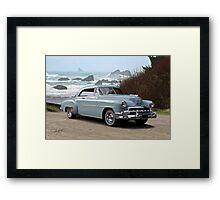 1951 Chevrolet Deluxe 2-Door Hardtop Framed Print
