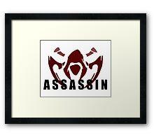 League of Legends Assasin Framed Print