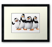 Penguin Madagascar 1 Framed Print