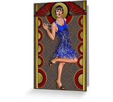 Deco Lumiere Greeting Card