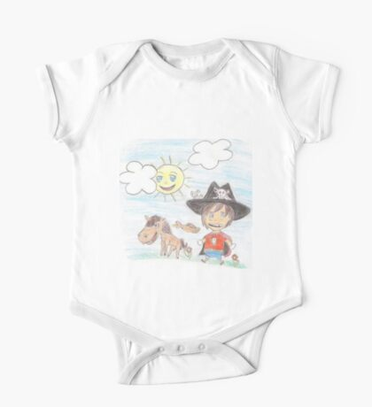 The Great Adventure of Pirate Boy Aaron One Piece - Short Sleeve