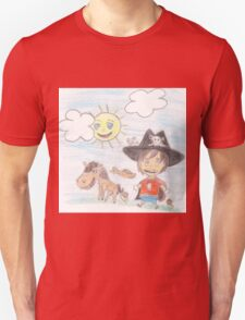 The Great Adventure of Pirate Boy Aaron Unisex T-Shirt