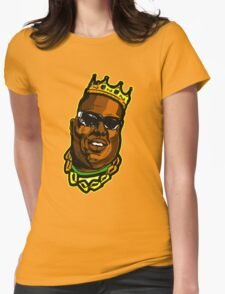 big notorious Womens Fitted T-Shirt
