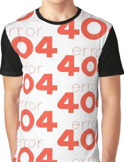 404 ERROR Graphic T-Shirt