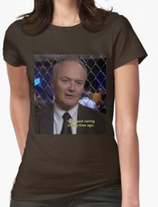 creed bratton  Womens Fitted T-Shirt