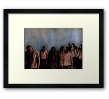 ZOMBIES V Framed Print