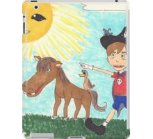 Pirate Boy Aaron and the Mystery of the Space Princess iPad Case/Skin